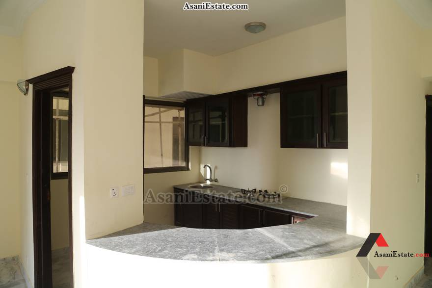 Kitchen 1400 sq feet 6.2 Marlas flat apartment for rent Islamabad sector E 11