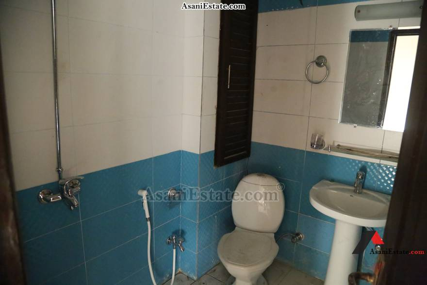 Bathroom 1400 sq feet 6.2 Marlas flat apartment for rent Islamabad sector E 11