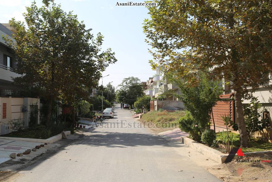 Street View 42x85 feet 16 Marla residential plot for sale Islamabad sector E 11