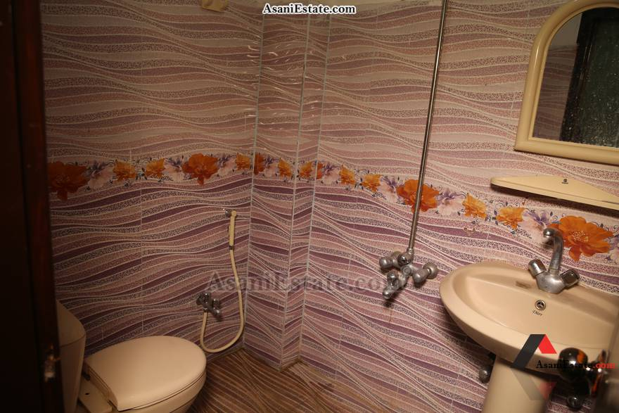 Bathroom 1450 sq feet 6.4 Marlas flat apartment for rent Islamabad sector E 11