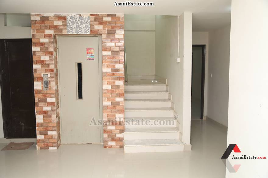Corridor View 1450 sq feet 6.4 Marlas flat apartment for rent Islamabad sector E 11