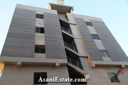 Outside View flat apartment for rent Islamabad sector E 11