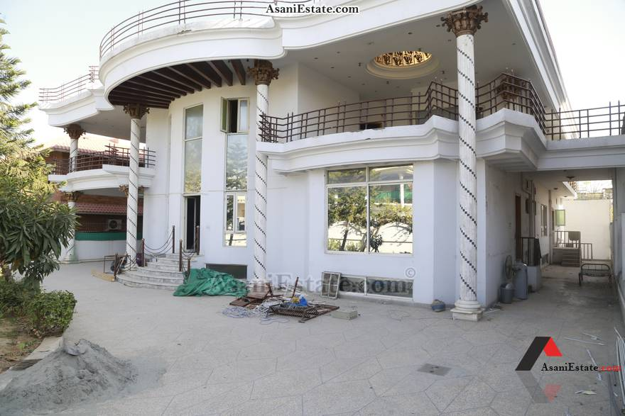 Outside View 1022 sq yards 2 kanals house for rent Islamabad sector F 11