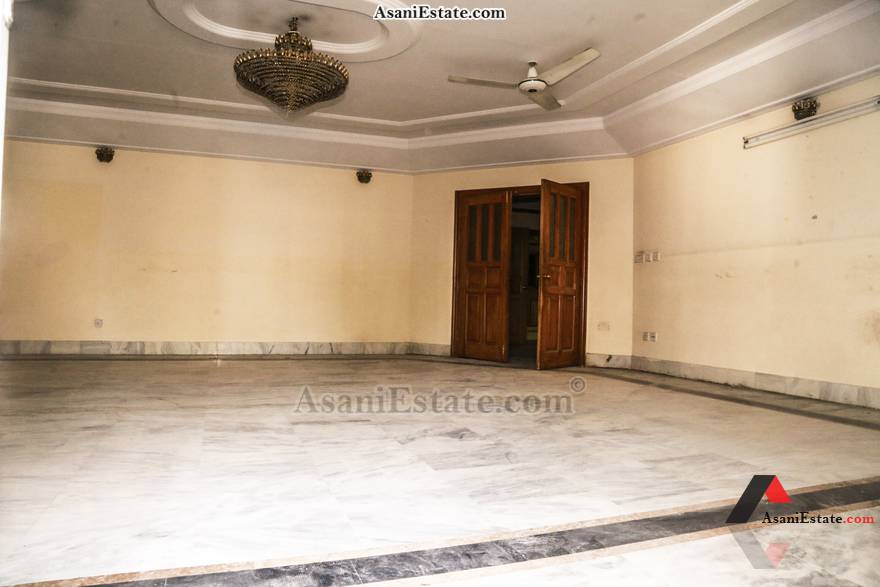 Ground Floor Living Room 1022 sq yards 2 kanals house for rent Islamabad sector F 11