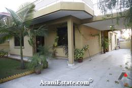 Outside View 500 sq yards 1 Kanal house for sale Islamabad sector F 10