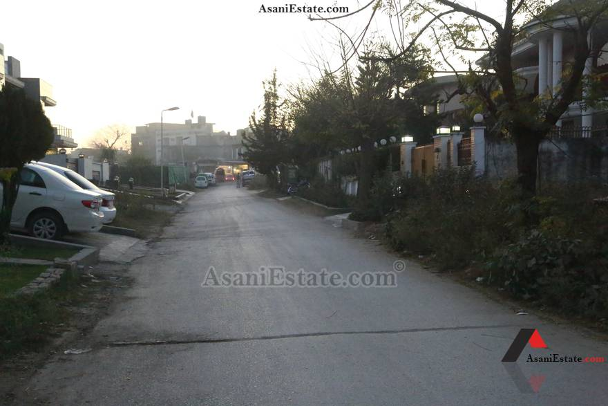 Street View 1,000 sq yards 2 Kanals residential plot for sale Islamabad sector F 11