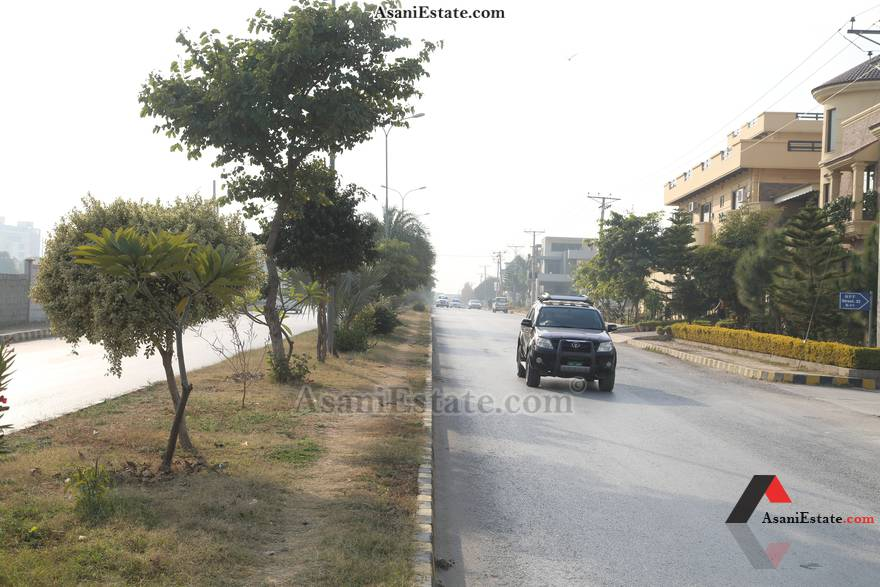 Street View 50x90 feet 1 Kanal house for rent Islamabad sector E 11