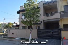 Outside View 36x50 feet 8 Marla house for sale Islamabad sector E 11