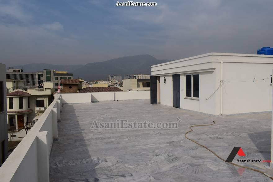 Rooftop View 50x90 feet 1 Kanal house for sale Islamabad sector E 11