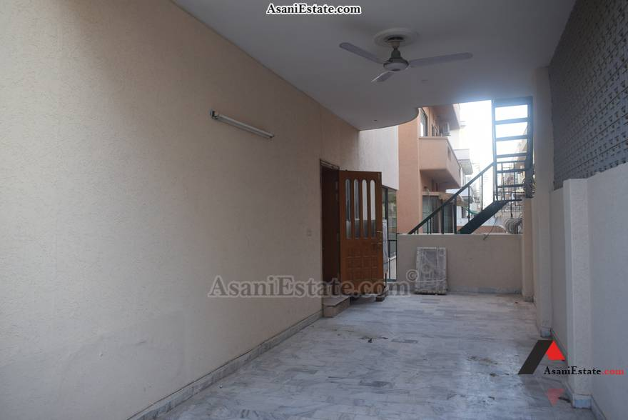 Main Entrance 50x90 feet 1 Kanal portion for rent Islamabad sector E 11