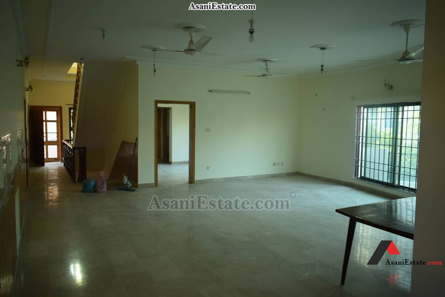 First Floor Living Room 50x90 feet 1 Kanal portion for rent Islamabad sector E 11