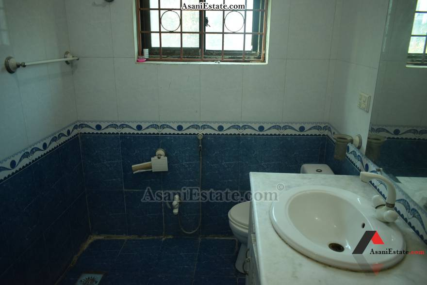 First Floor Bathroom 50x90 feet 1 Kanal portion for rent Islamabad sector E 11