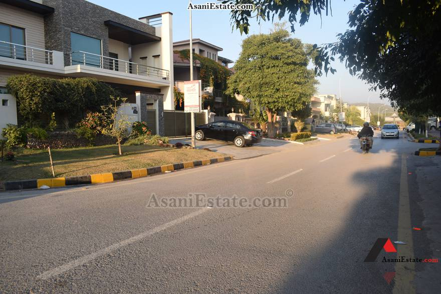 Street View 50x90 feet 1 Kanal portion for rent Islamabad sector E 11