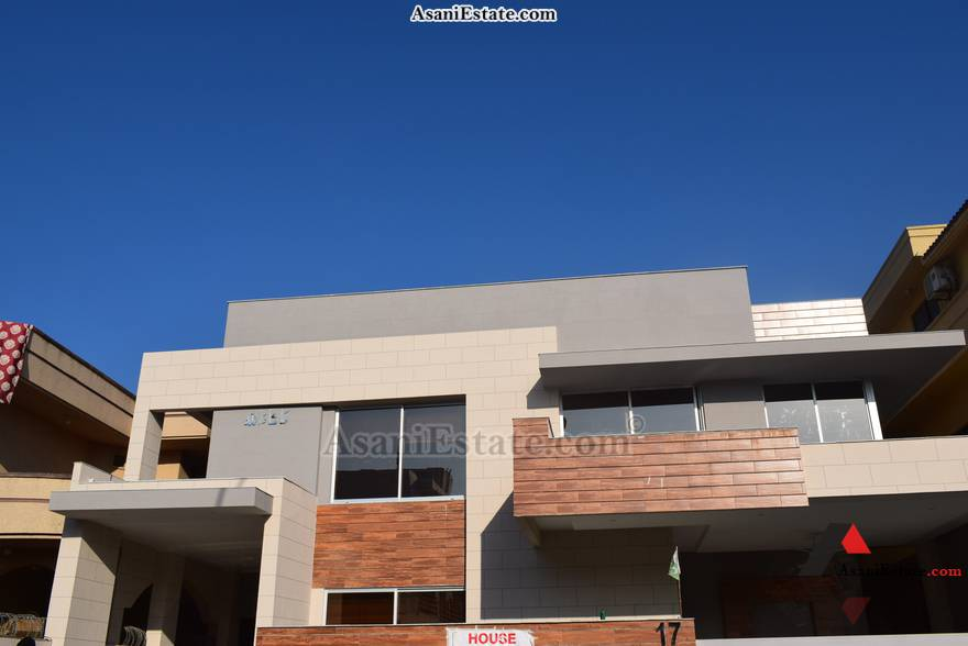 Outside View 50x90 feet 1 Kanal portion for rent Islamabad sector E 11