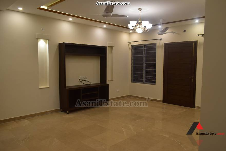 Basement Living Room 50x90 feet 1 Kanal portion for rent Islamabad sector E 11