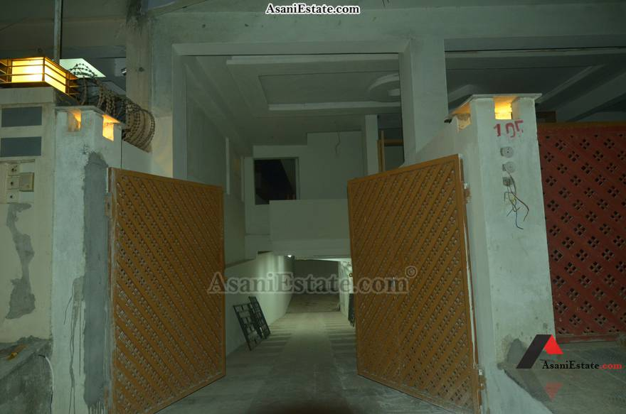 Basement Main Entrance 42x85 feet 16 Marla portion for rent Islamabad sector E 11