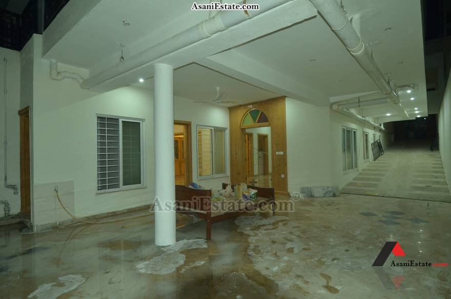 Basement Patio 42x85 feet 16 Marla portion for rent Islamabad sector E 11