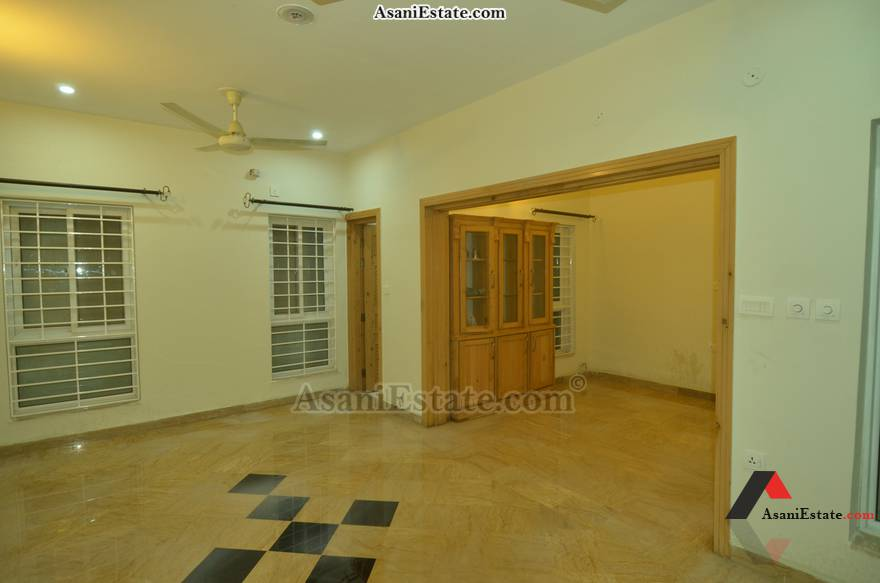 Basement Din/Drwing Rm 42x85 feet 16 Marla portion for rent Islamabad sector E 11
