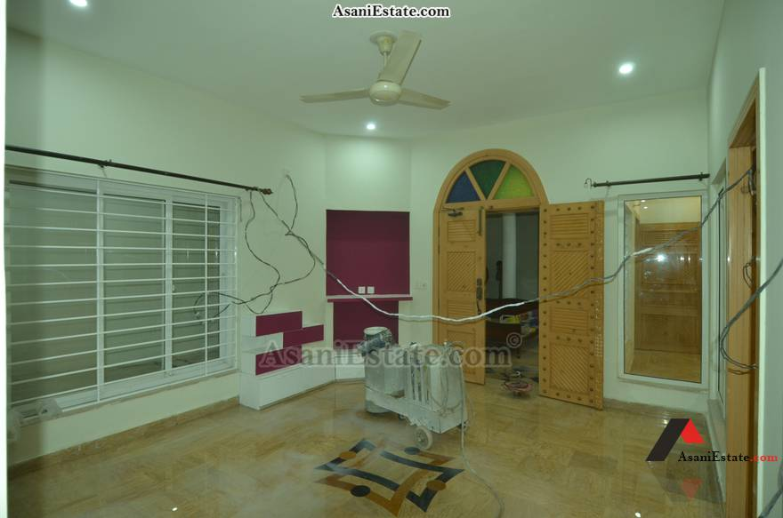 Basement Living Room 42x85 feet 16 Marla portion for rent Islamabad sector E 11
