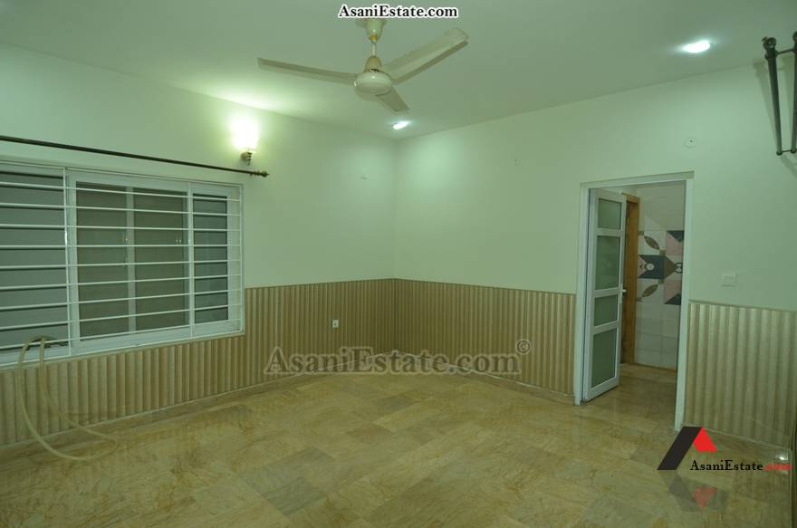 Basement Bedroom 42x85 feet 16 Marla portion for rent Islamabad sector E 11