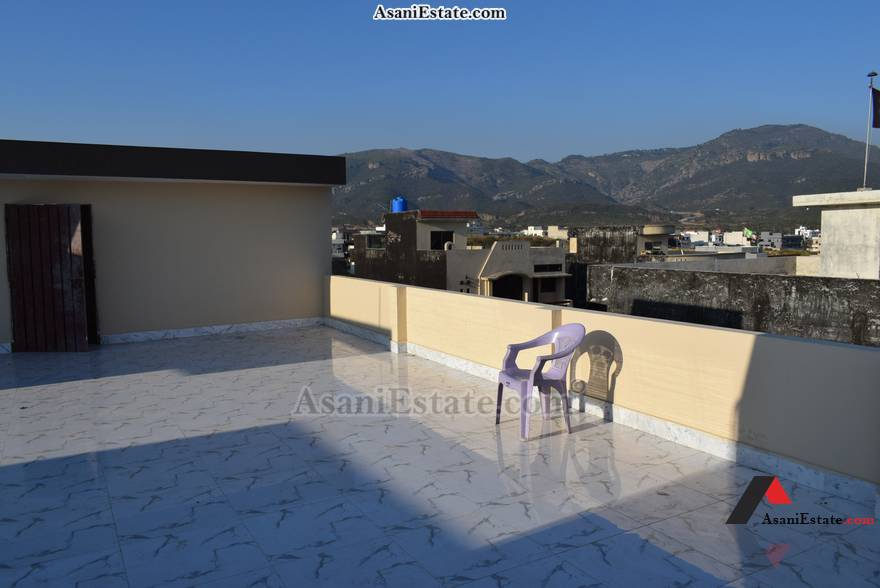 Rooftop View 35x70 feet 11 Marla house for sale Islamabad sector D 12
